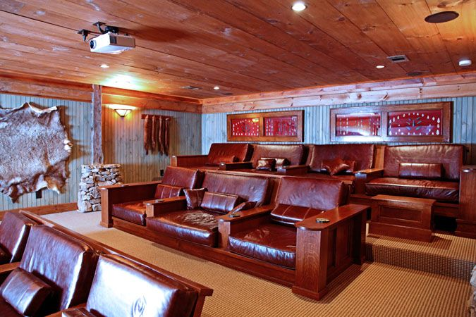 Theatre Furniture Love Log Home Designs Rustic Home