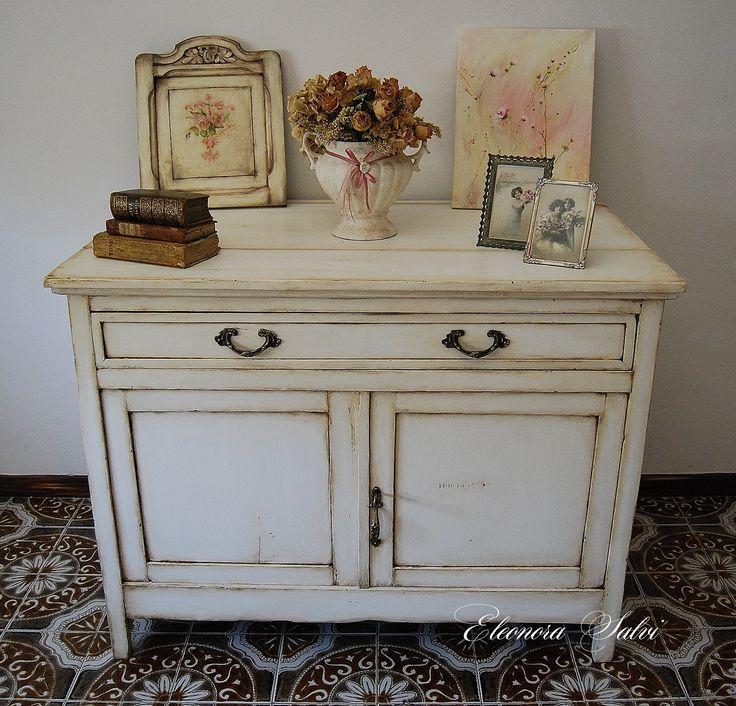1000 idee su dipingere cornici su pinterest cornici dipinte cornici dipinte e specchio - Dipingere mobili legno stile provenzale ...