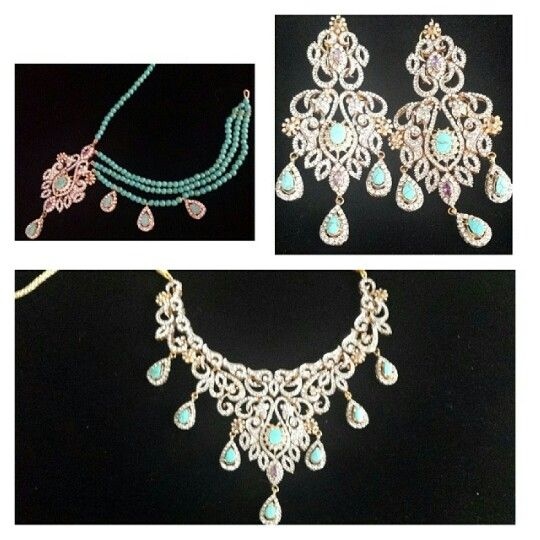 Turquoise stone set. Perfect for reception