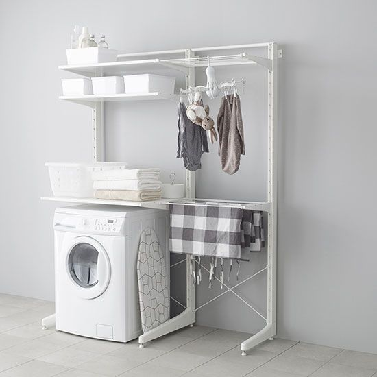 Laundry is a big job for a small home, but with the right planning it can be a…