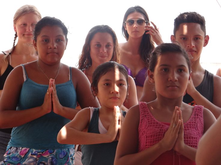 Yoga with Kids from Ostional; SEVA PROJECT http://www.itsyoganica.com/seva-project-yoga-nicaraguanmel-project-yoga-nicaragua/