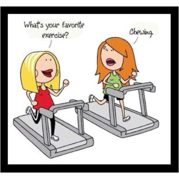 More Exercise and Weight-loss Funny Pictures