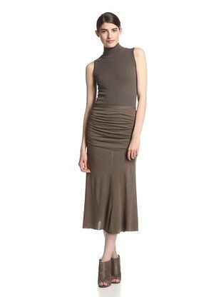 45% OFF Rick Owens Lilies Women's Ruched Skirt (Dna Dust)