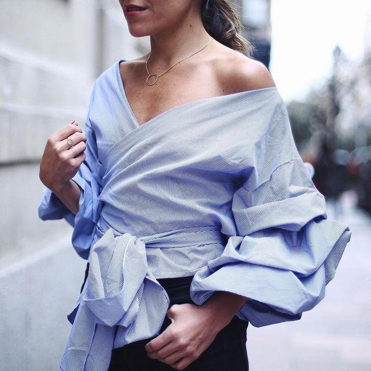 Pourquoi la blouse cache-cœur a tout bon cette saison ? | Glamour