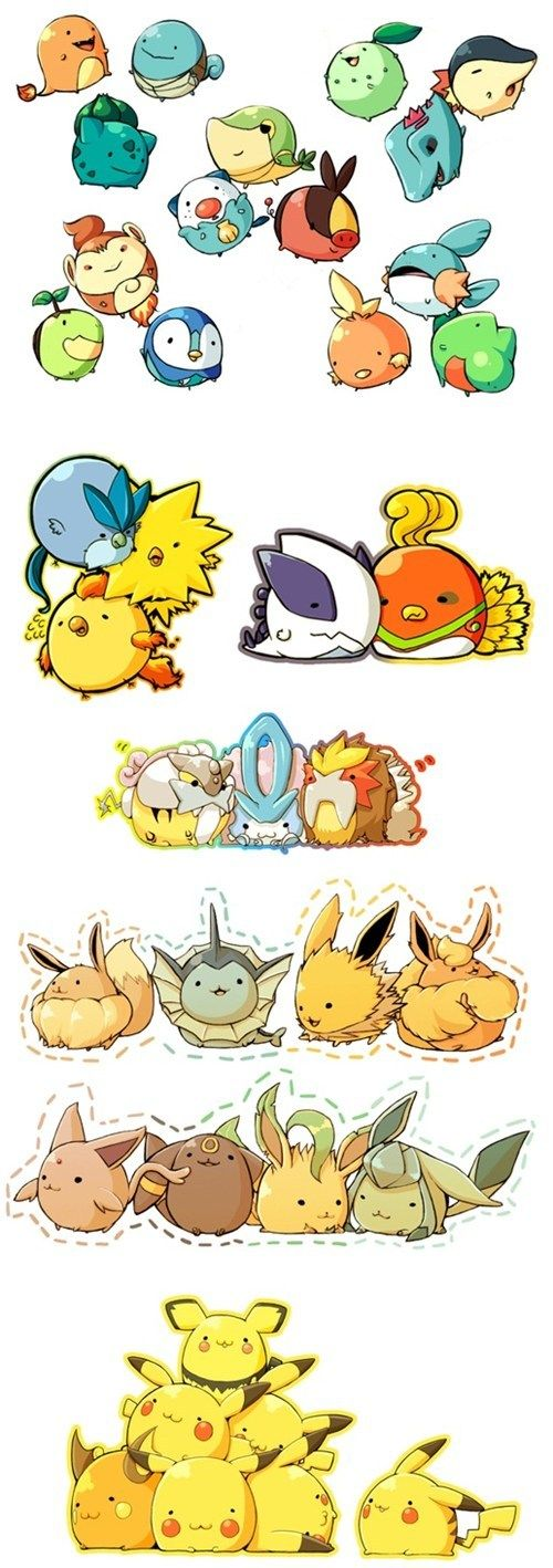 Pokémon Are So Cute When They Are Fat