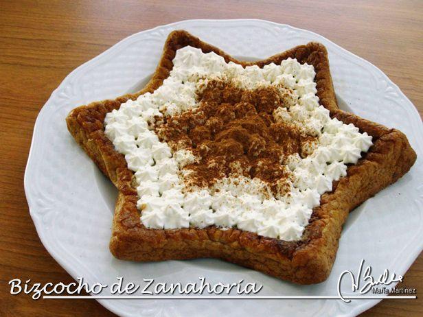 Bizcocho Dukan de Zanahoria y Canela, de Xonia