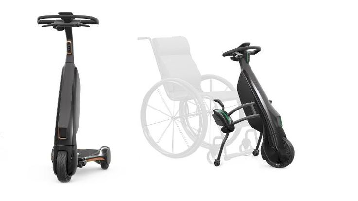 """Toyota unveils mini """"Olympics"""" electric and battery-powered vehicles for seniors"""