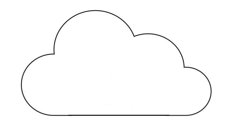 molde de nuvem - Pesquisa Google