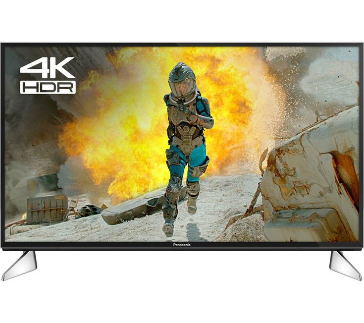 """Buy 40""""  PANASONIC VIERA TX-40EX600B  Smart 4K Ultra HD HDR LED TV Price: £479.00 Top features:- 4K Ultra HD TV with Multi HDR for premium picture quality - Smoother, more detailed images with 1300 Hz BMR - Streaming services and catch-up TV make sure you're always entertained - Smart TV with customisable My Home Screen 2.0 puts favourite content where you want it - Adjustable TV stand feet..."""