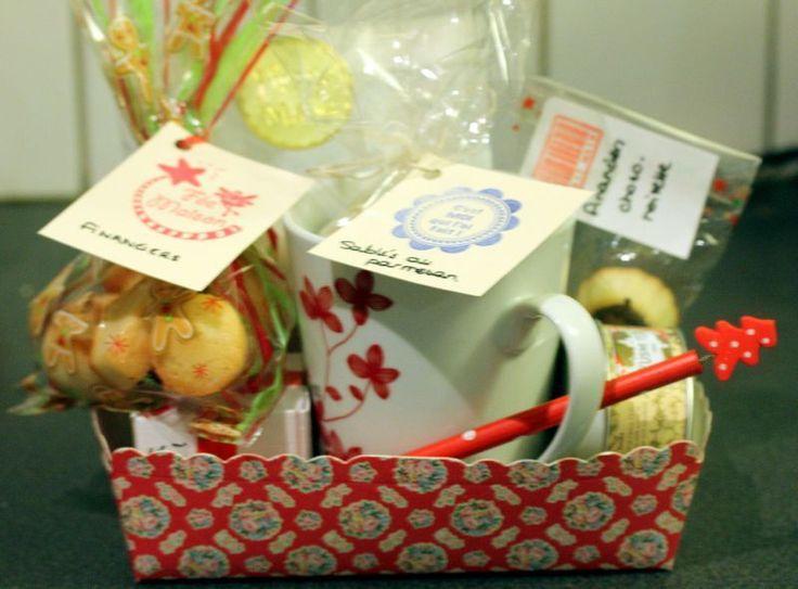 J17 : Cadeaux gourmands faits maison pour les maîtresses - les détails