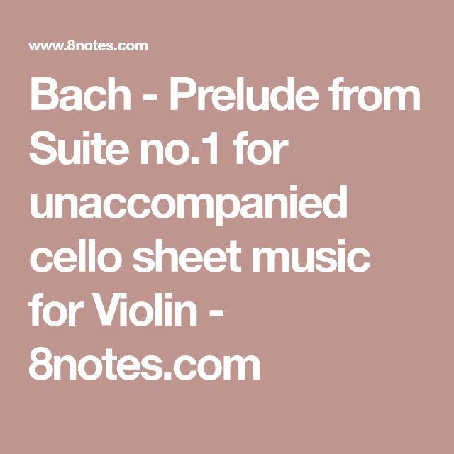 bach cello suite no 1 sheet music pdf