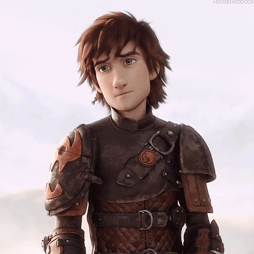 Hiccup- the perfect boyfriend :) oh, why cant he be real!!!