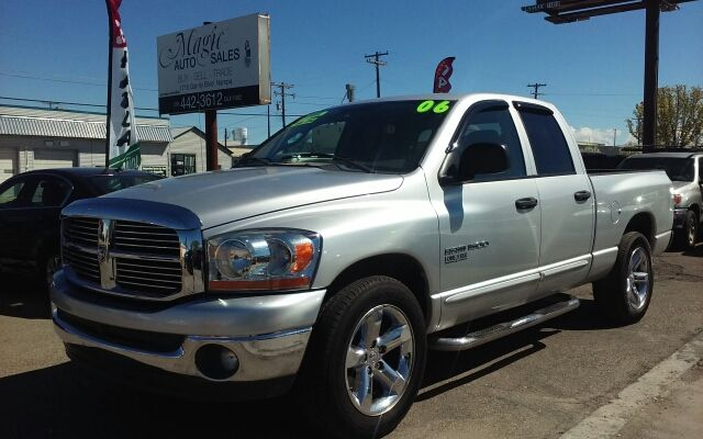 This 2006 Dodge Ram Pickup 1500 SLT is listed on Carsforsale.com for $9,499 in Nampa, ID. This vehicle includes Abs - Rear, Airbag Deactivation - Occupant Sensing Passenger, Anti-Theft System - Engine Immobilizer, Axle Ratio - 3.21, Body Side Reinforcements, Center Console - Front Console With Storage, Child Safety Door Locks, Child Seat Anchors, Clock, Compass, Cruise Control, Cupholders, Driver Seat Manual Adjustments - 8, Electronic Brakeforce Distribution, Engine Hour Meter, External…