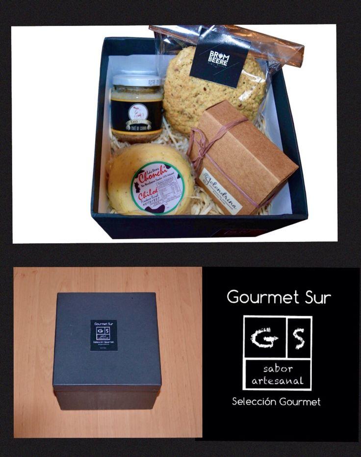 Gourmet Sur Caja Cubo, cuatro productos gourmet  elaborados en el Sur de Chile con las mejores materias primas de la zona. Gourmet Sur te lleva un momento gourmet a casa www.gsgourmetsur.com