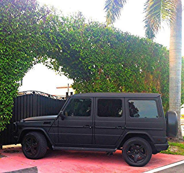 bad matte mercedes g wagon - G Wagon Matte Black Interior