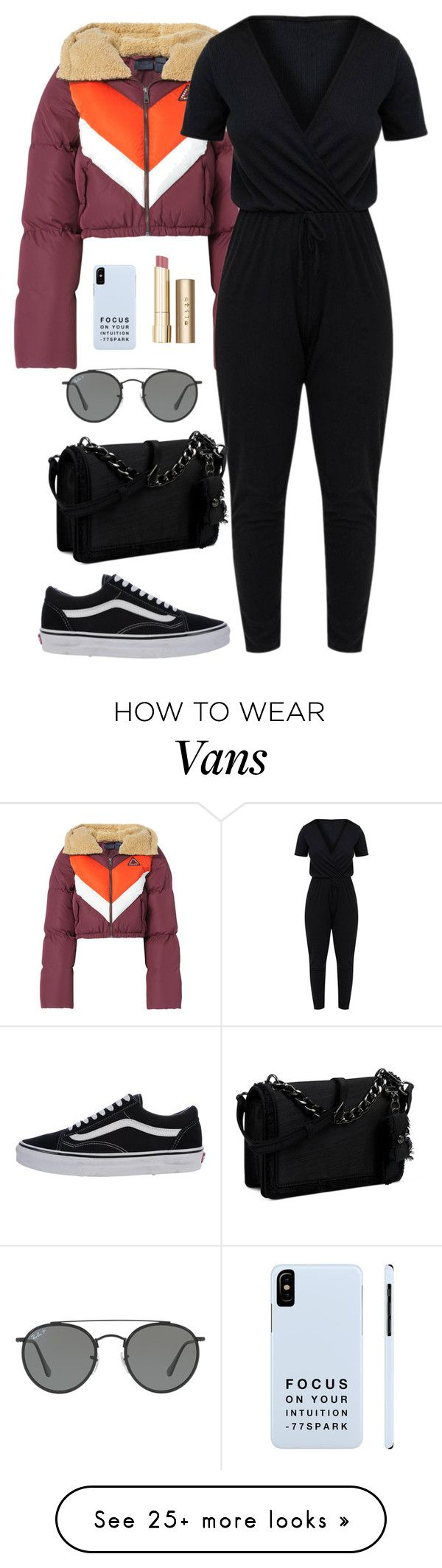"""""""You don't have to be perfect to be amazing"""" by chase-stars on Polyvore featuring Puma, Vans, Nine West, Ray-Ban and Stila"""