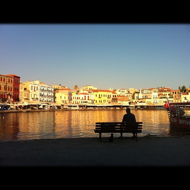 Chania-Old Port-Crete-Greece (by iphone)