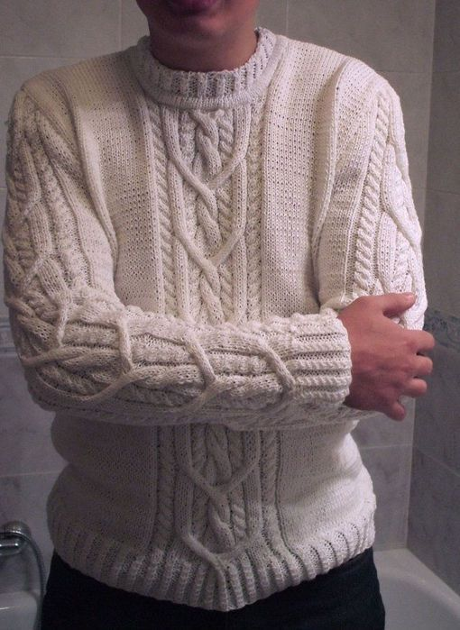 Knitting, male models | Entries in category knitting, male models | Fashion model for knitting on MSLANAVI_COM