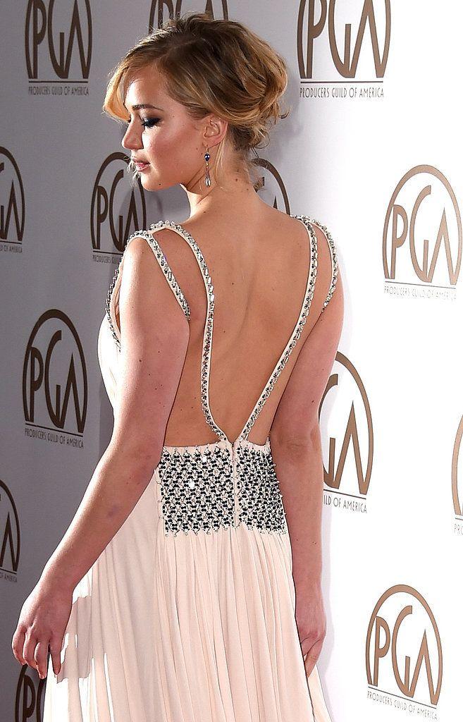 Jennifer Lawrence at the Producers Guild Awards 2015 | POPSUGAR Celebrity