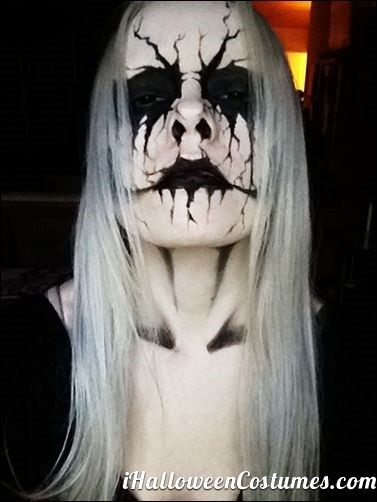 skull makeup - Halloween Costumes 2013