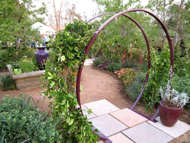 bubble trellis | Above: The Gracie Arbor in Kumquat. Each design is meant to support a ...