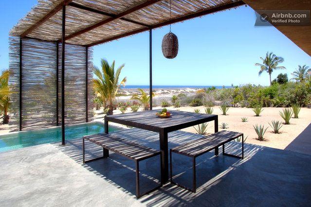 Modern Rustic Beach House in Todos Santos