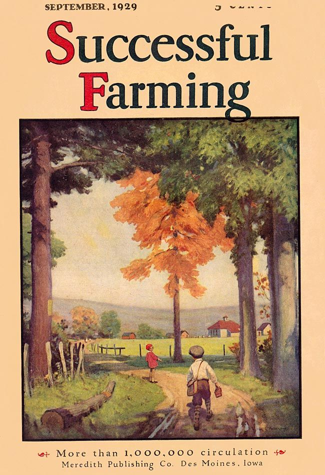 Successful Farming 1929-09 Artist: Victor C. Anderson