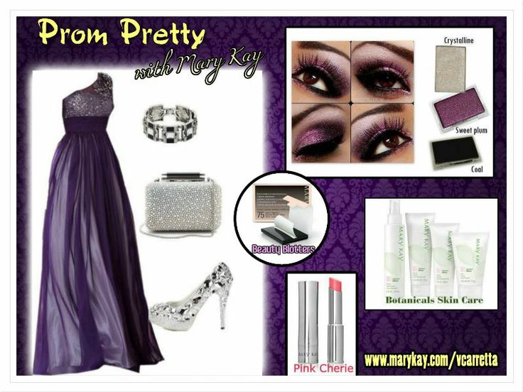 "Get prom pretty with Mary Kay makeup!  Download your picture on the Virtual Makeover section of my website and ""try on"" different looks.  When you are ready SHOP: www.marykay.com/vcarretta"