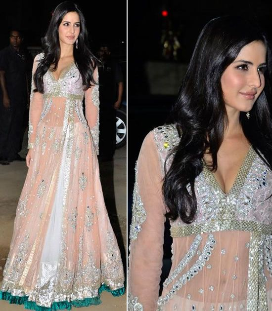 Katrina Kaif in Manish Malhotra dresses    Do you want to see Katrina Kaif pictures in Manish Malhotra dresses? Manish Malhotra has been one of the most famous and yet the leading fashion designers in fashion world.
