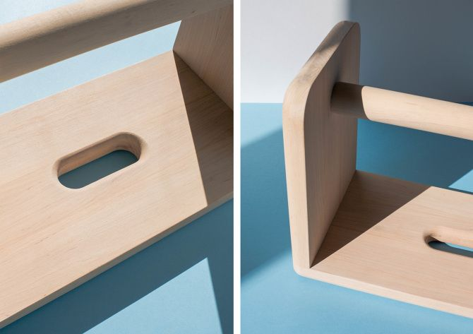 Simple stool by Agata Nowak