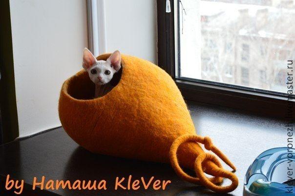 """Купить Домик-чум для кошки или маленькой собачки, """"Луковка"""" - домик для кошки, домик для собаки"""