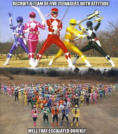 Power Ranger Meme Gokaiger