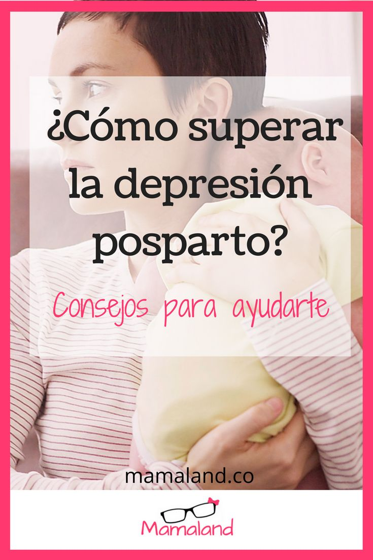 Ingresa al artículo para obtener consejos de cómo superar la depresión posparto. #Mamaland #depresionposparto #posparto #parto #embarazo #depresion #depression