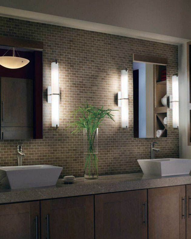 Remarkable Delta Light Fixtures Bathroom Only On This Page Modern Bathroom Lighting Modern Bathroom Design Bathroom Sconces