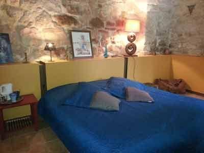 Une des Chambres d'hôtes, yourtes, cabane à vendre à 10mn des Gorges de l'Ardèche dans le Gard
