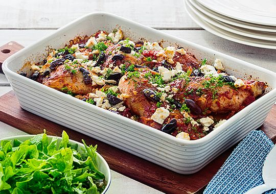 Greek Baked Chicken