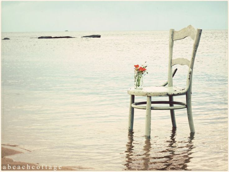 The Beach Cottage Green Vintage Chair