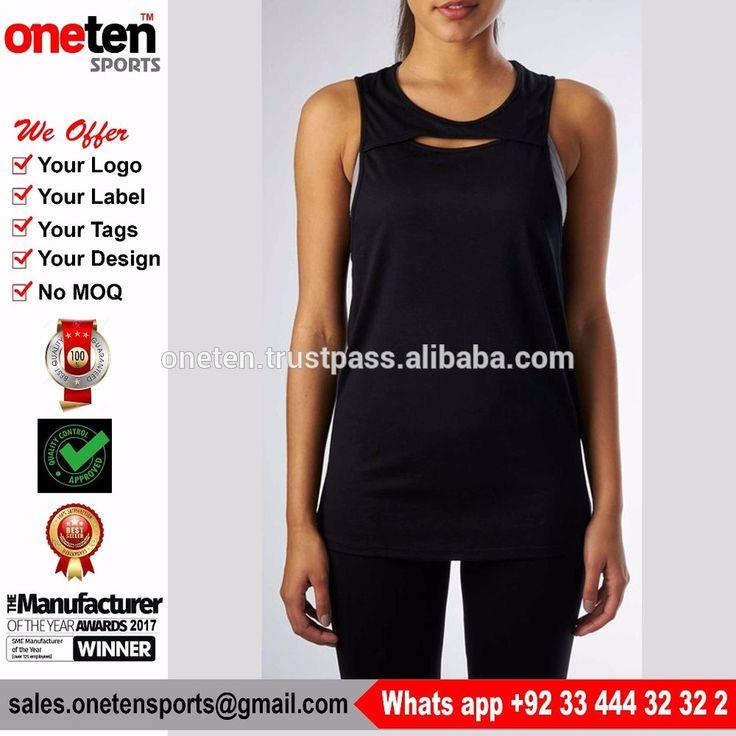 Sexy Women Gymwear Vest Sports Tank Tops - Ladies Gym wear