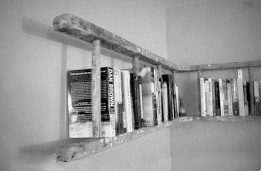 ecco cosa potrebbe diventare una vecchia scala di legno