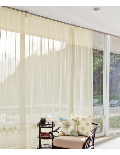 Classic Wave Fold Drapery - Bold + modern, featuring deep, smooth waves