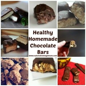Healthy Homemade Chocolate Bars