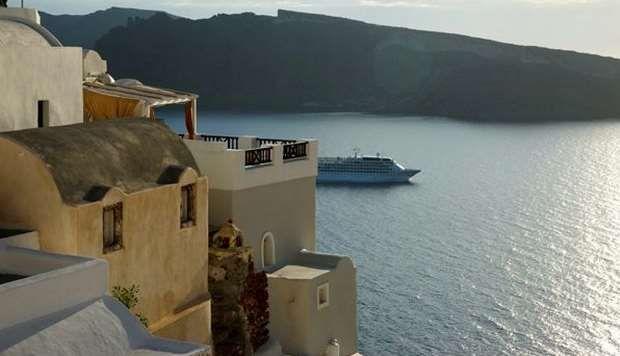Oia Castle Hotel santorini