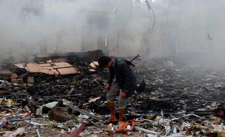 Muerte en Yemen Matanza Arabia Saudí Asesinos Niños Escuela Jomaa Ben Fadel en Haydan en la provincia de Saada Coalición criminal Bombardeos