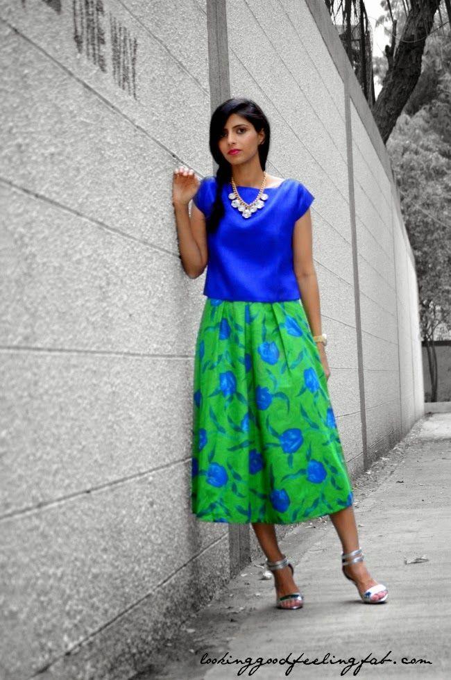 #midiskirt #indianfashionblog #skirt #fashionblog #OOTD