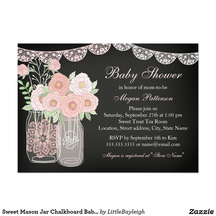 200 best little bayleigh images on pinterest | zazzle invitations, Baby shower invitations