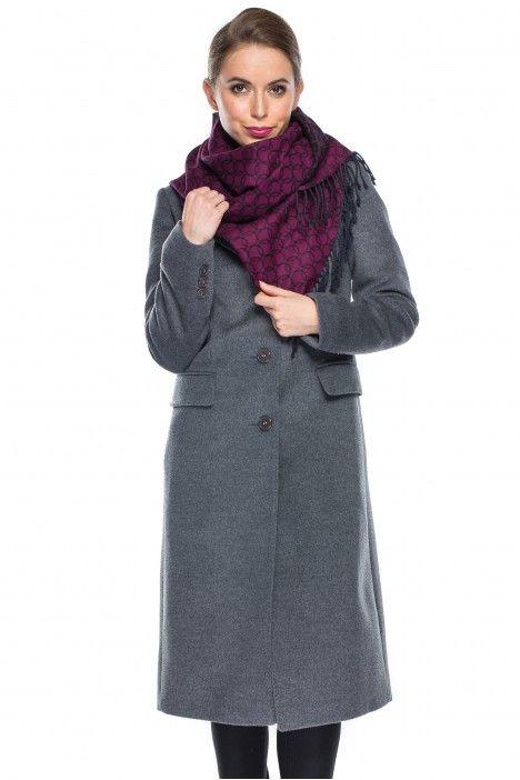Płaszcz w kolorze szarym - De Facto - De Facto - Balladine.com