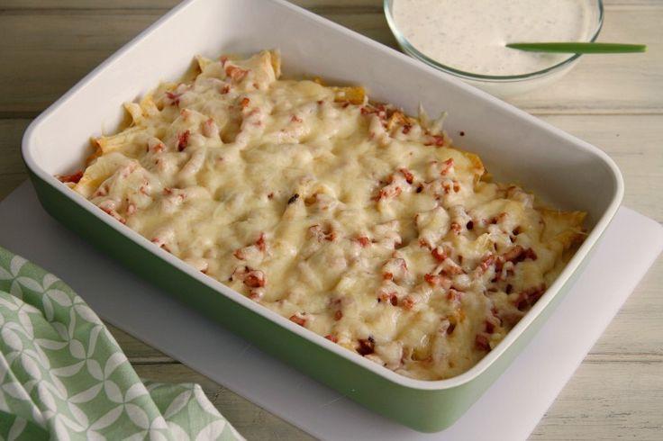 Patatas fritas con beicon y queso (bacon cheese fries) y salsa ranchera » Recetas Thermomix | MisThermorecetas
