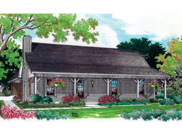 33 best images about rustic ranch style houses on for Rustic ranch house plans