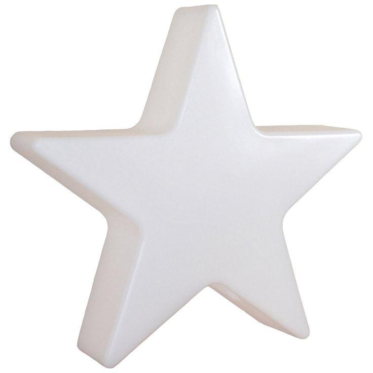 Polyethylen, Weiß, inkl. 5 m Kabel und Fernbedienung ✓ 8 Seasons Design Beleuchteter Stern 100 cm Outdoor ➜ Weitere dekorative Außenbeleuchtung kaufen