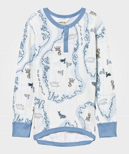 Joha Arctic Zone T-shirt Blå Mult Arctic Zone Blue Multi